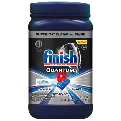 Finish Quantum Ultimate Clean & Shine Dishwasher Detergent Tablets