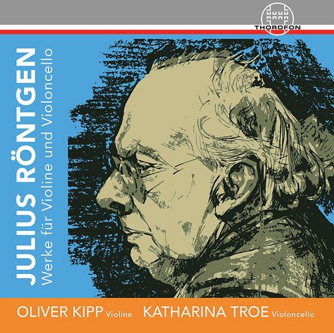 Oliver kipp - Roentgen:Works for violin & cello (CD) - image 1 of 1