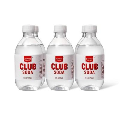 Club Soda - 6pk/10 fl oz - Market Pantry™