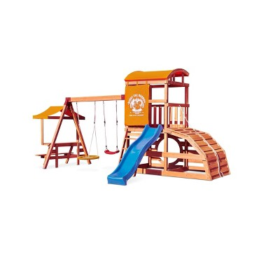 Little Tikes Real Wood Adventures Bushy Tail Burrow Outdoor Playset