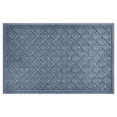 Blue Stone Solid Doormat - (2'X3')- Bungalow Flooring