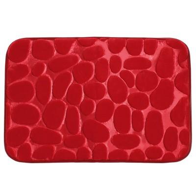 1 Pc Flannel Non-slip Absorbent Memory Foam Floor Mats Light - PiccoCasa
