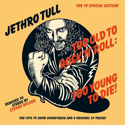 Jethro tull - Too old to rock n roll:Too young to d (CD) - image 1 of 1