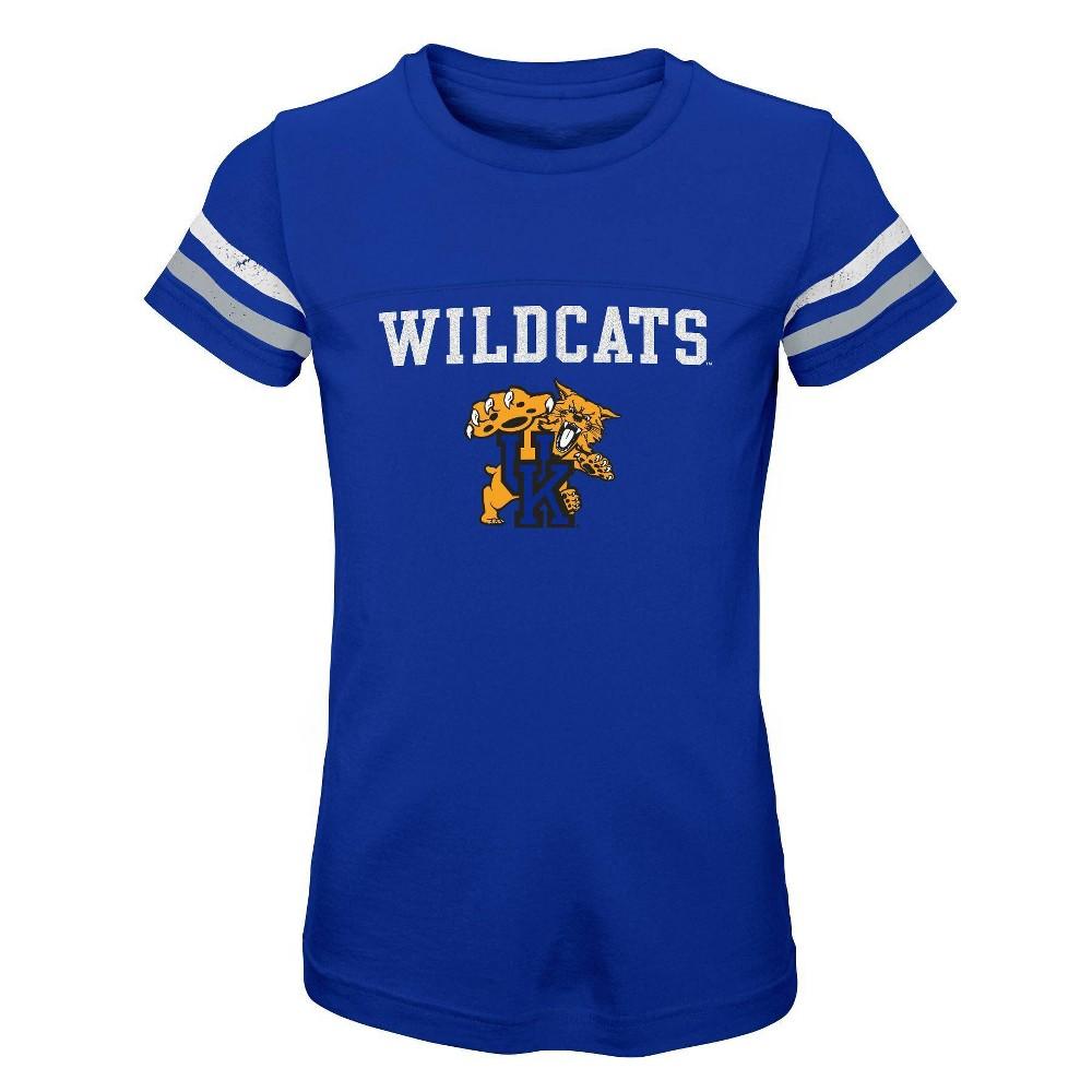 Ncaa Kentucky Wildcats Girls 39 Short Sleeve Scoop Neck T Shirt Xs