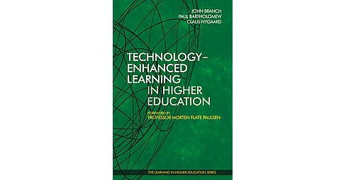 Technology-Enhanced Learning in Higher E ( Learning in Higher Education) (Hardcover) - image 1 of 1