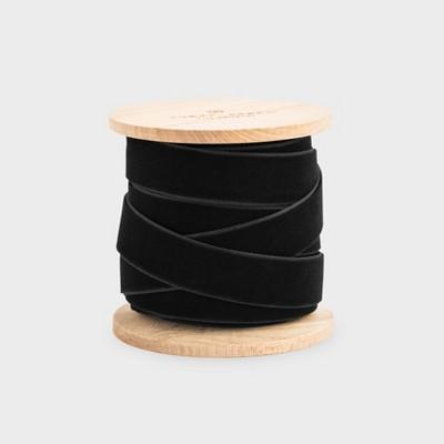 """5/8"""" Black Velvet Ribbon - Sugar Paper™"""