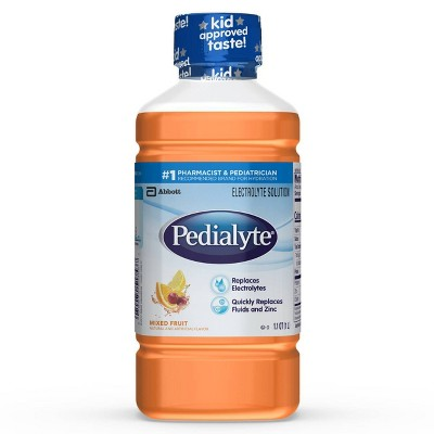 Pedialyte Oral Electrolyte Solution - Mixed Fruit - 1L