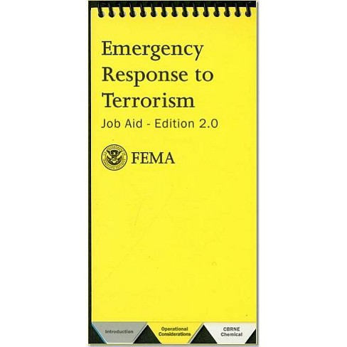 Emergency Response to Terrorism - (Spiral_bound) - image 1 of 1