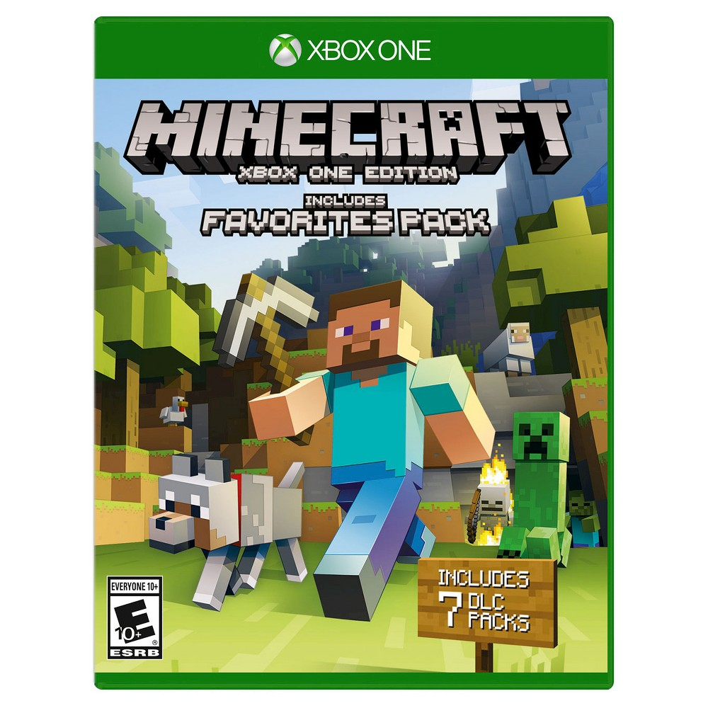 Minecraft: Xbox One Edition Favorites Pack Xbox One