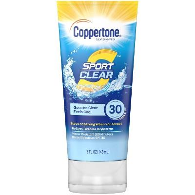 Coppertone Sport Clear Sunscreen Lotion - 5 fl oz