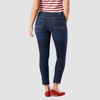 DENIZEN® from Levi's® Women's Mid-Rise Modern Ankle Skinny Jeans - Dark Wash 6