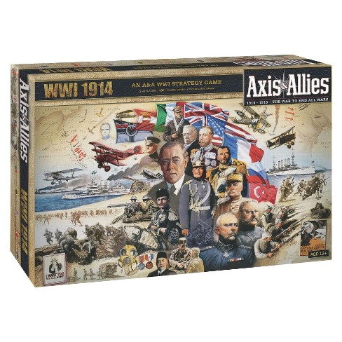 Axis & Allies WWI 1914 Strategy Board Game - image 1 of 1