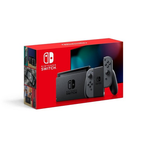 Nintendo Switch with Gray Joy-Con - image 1 of 4