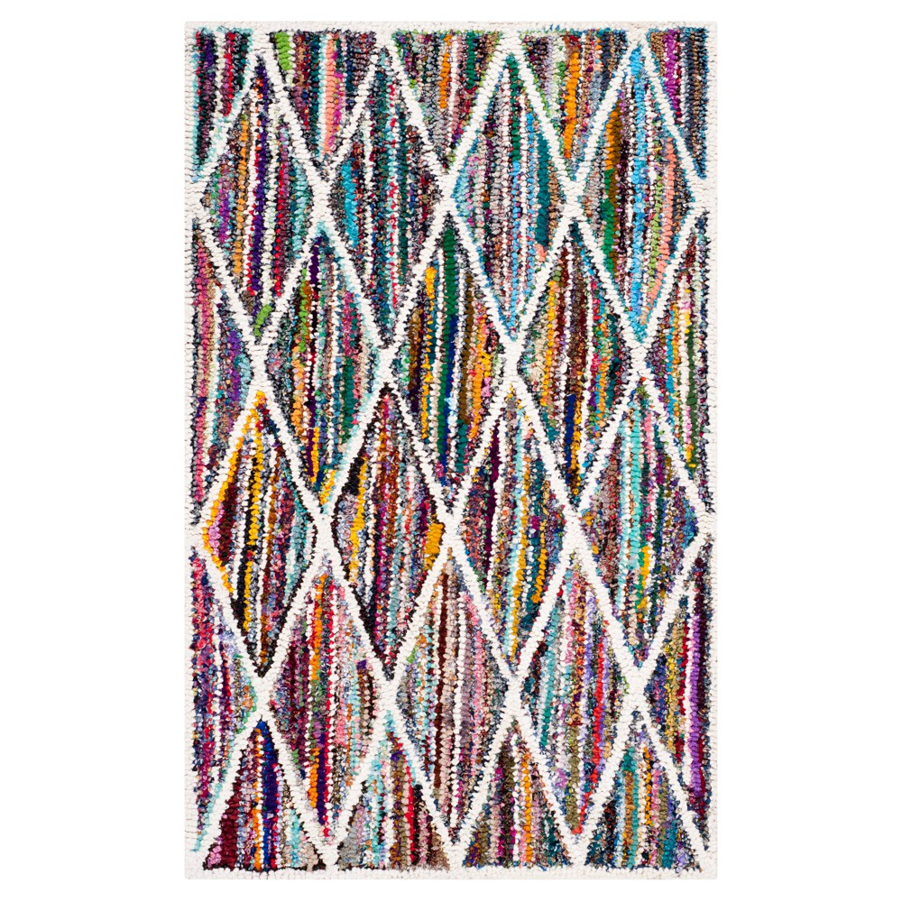 Delancy Area Rug - Multi (4'x6') - Safavieh, Multicolored