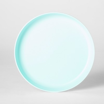 7.3  Plastic Kids Plate Light Blue - Pillowfort™