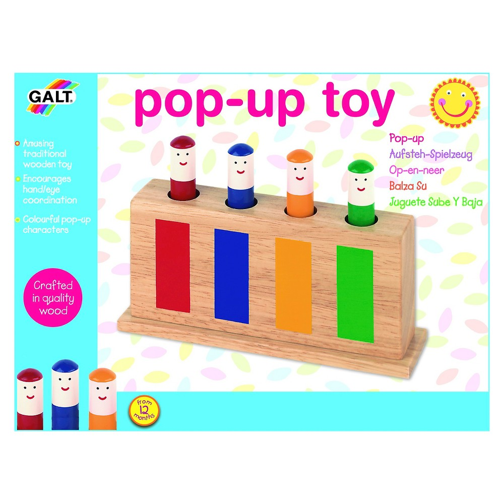 Galt Pop Up Toy, baby and toddler learning toys