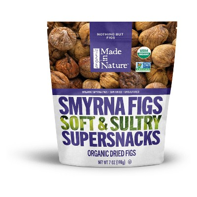 Dried Fruit & Raisins: Made in Nature Smyrna Figs
