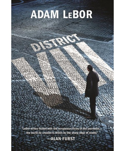 District VIII -  (Detective Balthazar Kovacs Mysteries) by Adam Lebor (Hardcover) - image 1 of 1