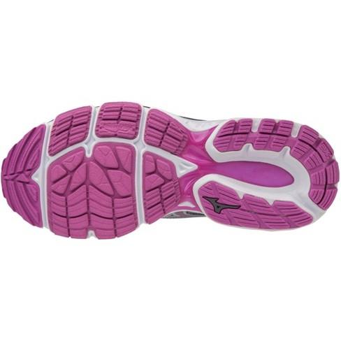 cheaper b3011 20cc4 Mizuno Women's Wave Inspire 14 Wide Running Shoe Womens Size 12 In Color  Dapple Gray-Clover (9M61)