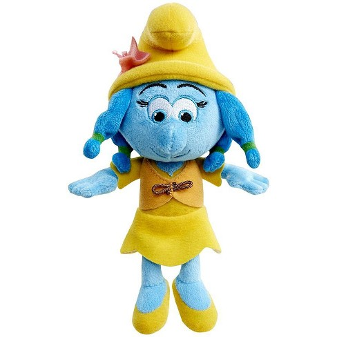 The Smurfs The Lost Village Smurflily 8-Inch Bean Bag Plush [with Vest] - image 1 of 1