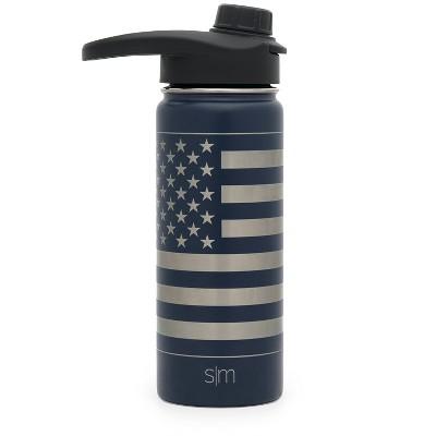 Simple Modern 18oz Summit Water Bottle Midnight Blue Laser Engraved