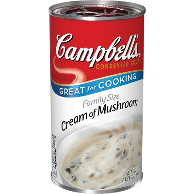 Campbell's Condensed Family Size Cream of Mushroom Soup 22.6oz