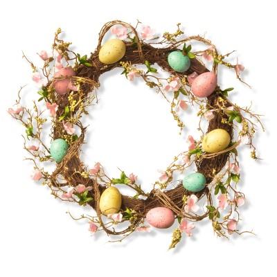 18  Easter Egg Wreath - National Tree Company