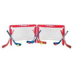Franklin Sports NHL 2 Mini Hockey Goals Set