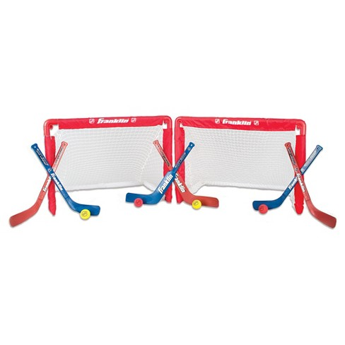 Franklin Sports NHL 2 Mini Hockey Goals Set - image 1 of 4