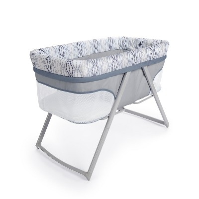 Ingenuity Foldaway Rocking Bassinet in Fletcher - Gray