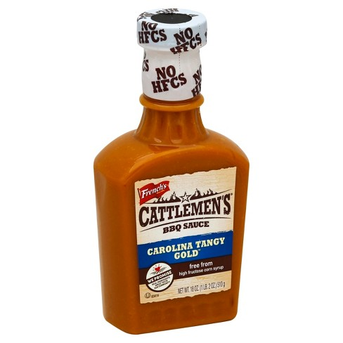 Cattlemen's BBQ Carolina Tangy Gold - 18 fl oz - image 1 of 1