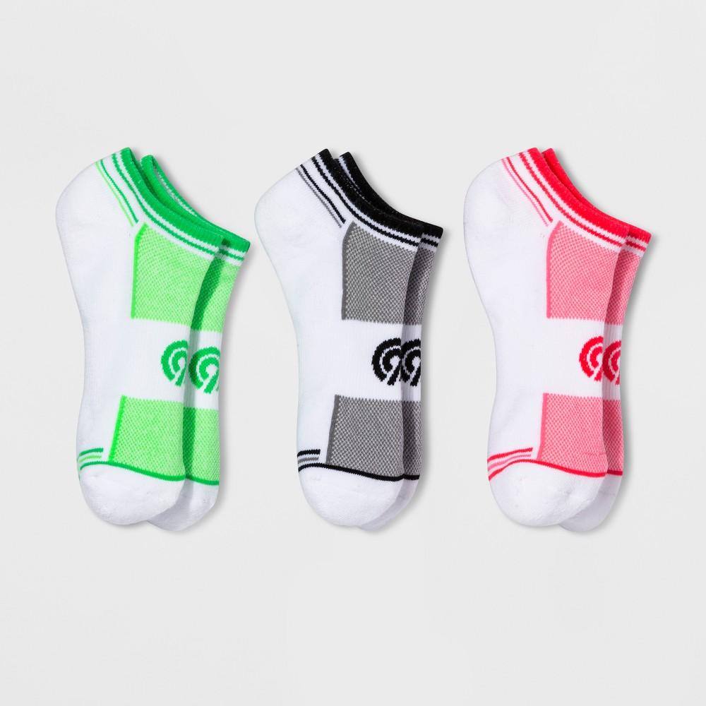 Women's Training No Show Athletic Socks - C9 Champion Pink 5-9