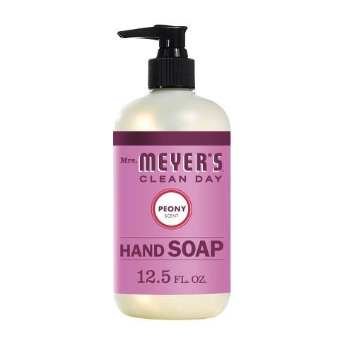 Mrs. Meyer's Peony Scented Liquid Hand Soap - 12.5 fl oz - image 1 of 4