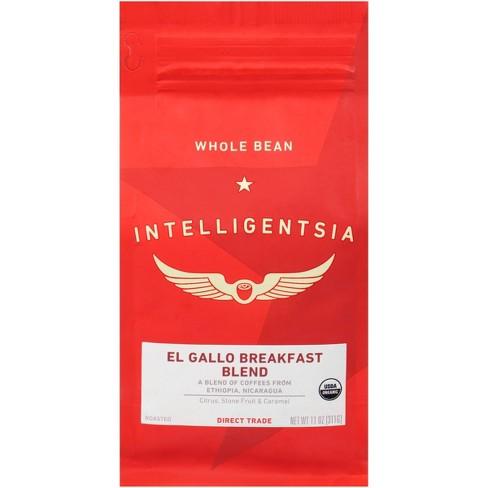 Intelligentsia Direct Trade Organic El Gallo Breakfast Blend Medium Roast Whole Bean Coffee - 11oz - image 1 of 4