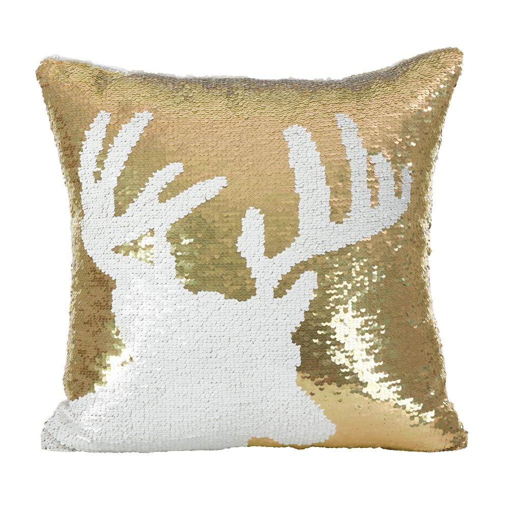 Throw Pillow Saro Lifestyle Bold Gold