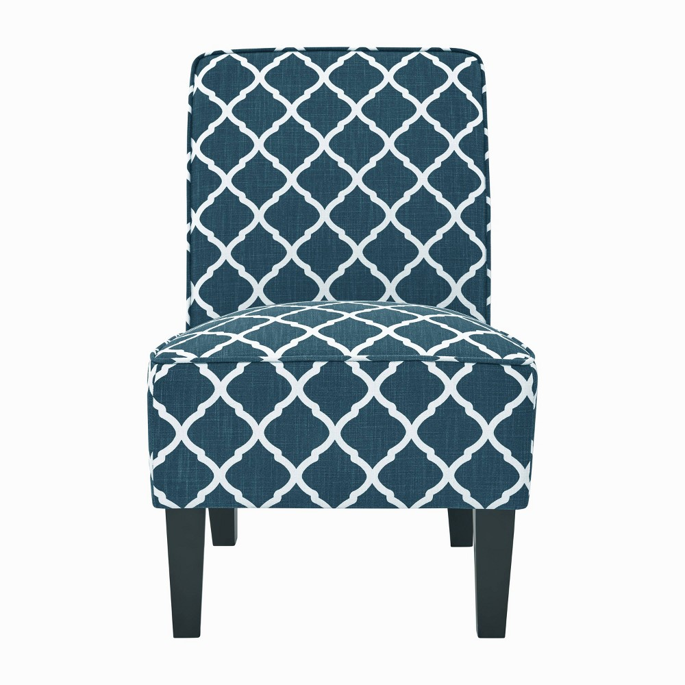 Image of Branson Armless Chair Navy Blue - Handy Living