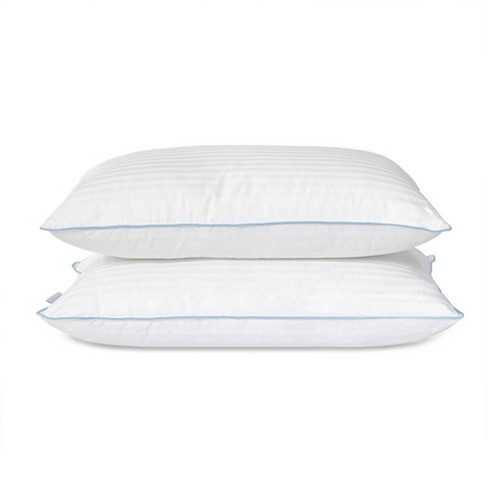 eLuxury Medium Density Hypoallergenic Down Alternative Pillow - 2 Pack - image 1 of 4