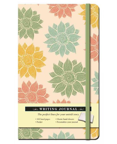 Multi Floral Writing Journal (Hardcover) - image 1 of 1