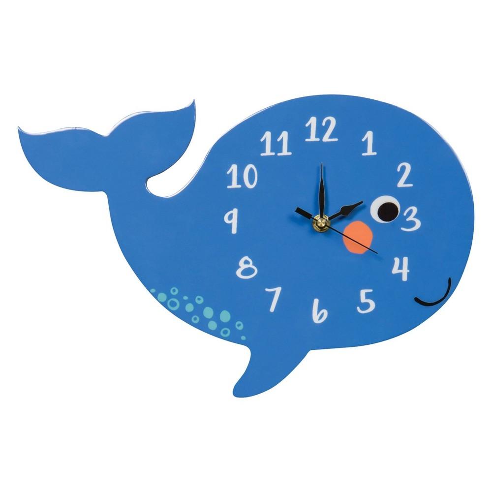 Trend Lab Blue Whale Wall Clocks - Blue