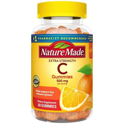 Nature Made Vitamin C 500mg Extra Strength Gummies - 60ct