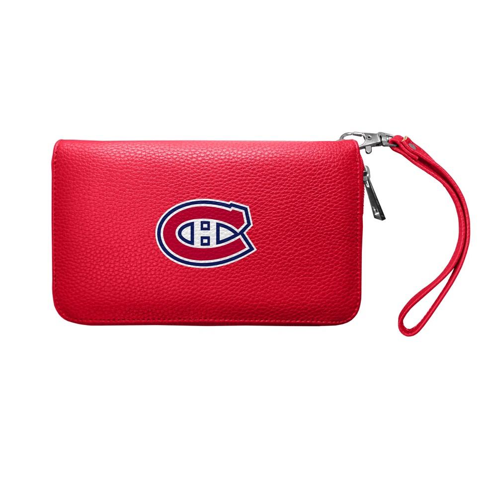 NHL Montreal Canadiens Pebble Zip Organizer Wallet, Girl's