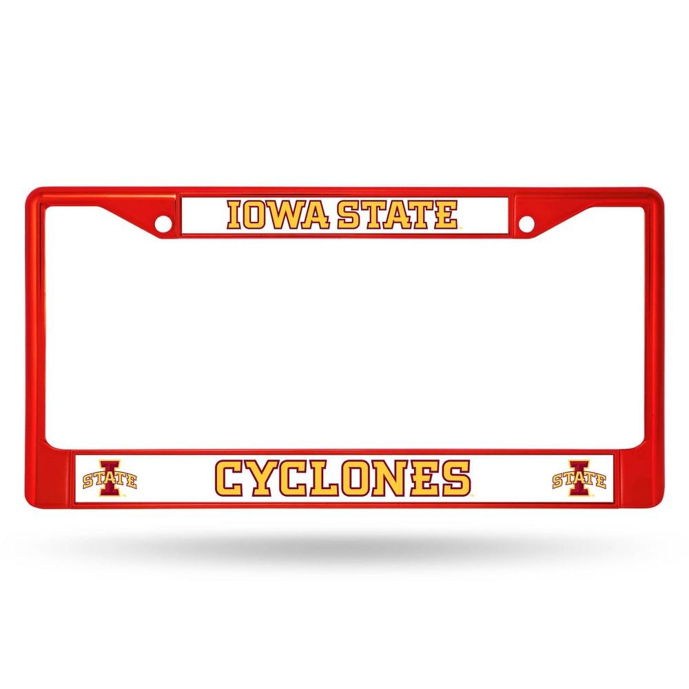 Ncaa Iowa State Cyclones Colored Chrome Frame