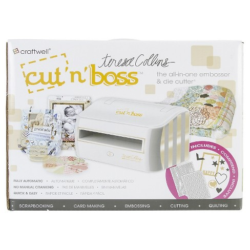 Cut'n'Boss Electronic Die Cutting Machine - Multicolored - image 1 of 4