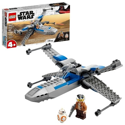 LEGO Star Wars Resistance X-Wing Building Toy 75297