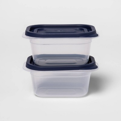 4ct Press Lid Plastic Food Storage Set - Made By Design™