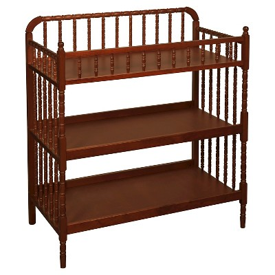 DaVinci Jenny Lind Changing Table - Cherry, Red