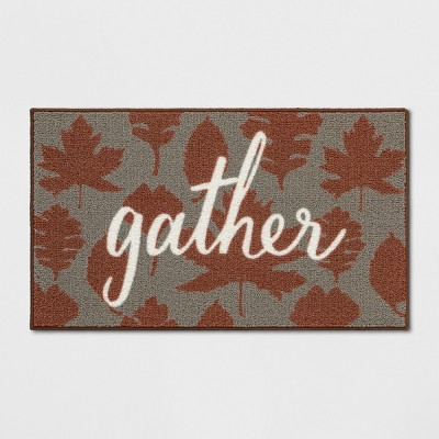 1'8 X2'10 /20 X34  Gather Tufted Accent Rug Neutral - Threshold™