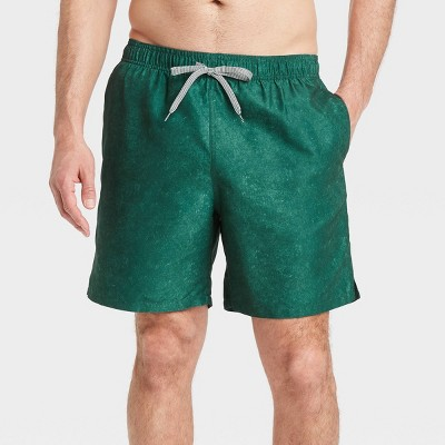 """Men's 7"""" Swim Trunks - Goodfellow & Co™ Green"""