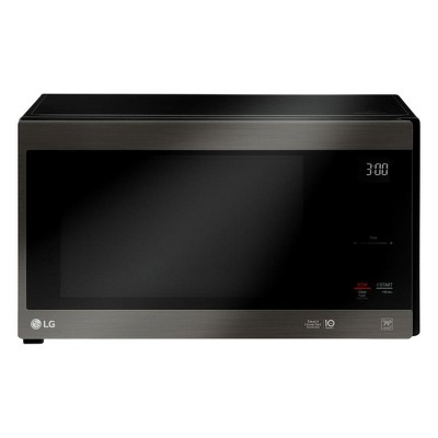 LG NeoChef Black Stainless Steel 1.5 Cubic Ft. Microwave (Manufacturer Refurbished)