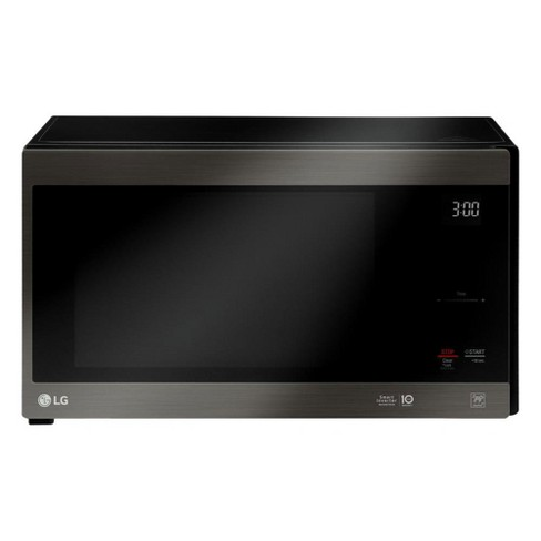 LG NeoChef Black Stainless Steel 1.5 Cubic Ft. Microwave (Certified Refurbished) - image 1 of 4